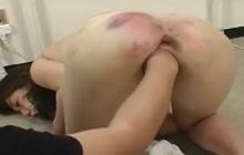Slave gets ass torture
