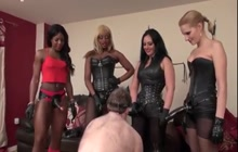 Female domination with strap on