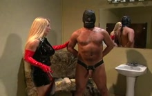 Mistress enjoys intense punishment